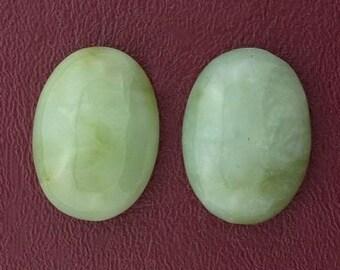 1 - 29x21 oval new jade cabochon gem stone gemstone