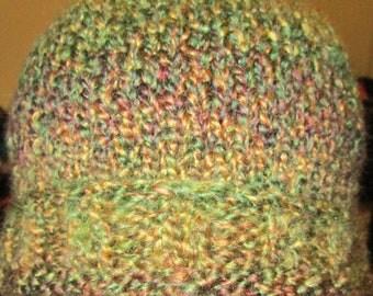 Hunter green knit hat