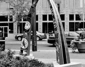 The Arch Statue on Washington Blvd