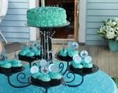 Designer Chandelier Cupcake/Cake Serving Stand