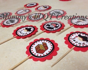 Pirate Cupcake Toppers 12 Ct.