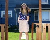 Rose Pink High Waisted Pencil Skirt