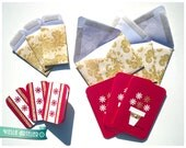 12 Pcs Set - Flower Pot - Blank Cards and Envelopes