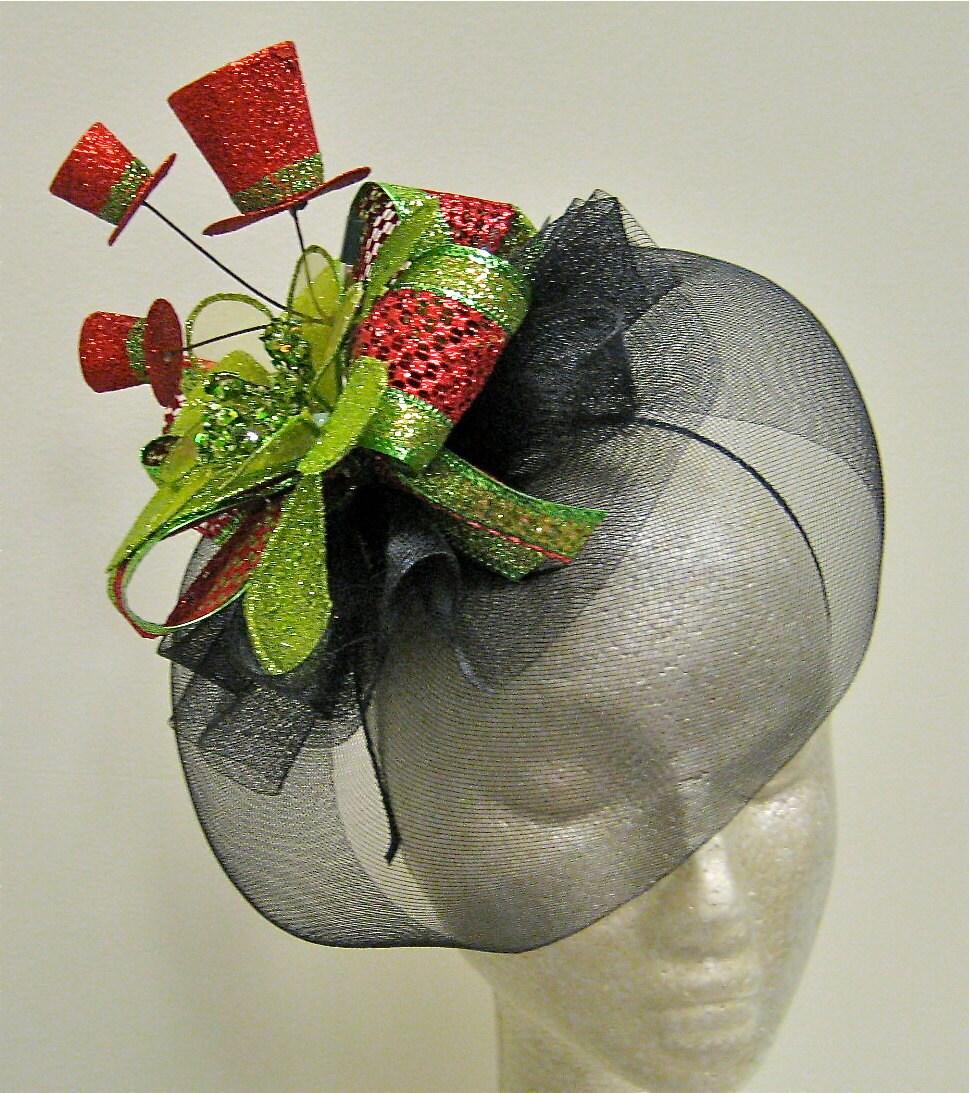 Christmas Fascinator Hat
