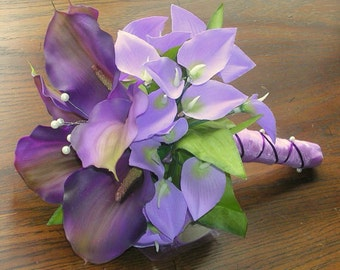 2 Bridal Bouquet - Includes Throwing Bouquet MADE TO ORDER