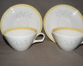 Vintage Tea Cup and Saucer     Free Shipping