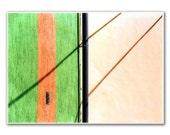 Shadows and Stripes, 5x7'  Photography,  Fine Art, Modern Room, Nursery Art, Home decor