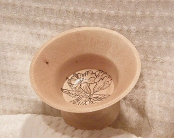 Small wooden candy dish - 12-3-107