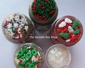 Cupcake Sprinkles - That Holiday Feeling Sprinkle Set