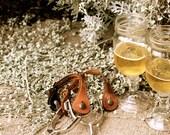 Hillbilly Wine Glass / Redneck Wine Glass - Set of Two