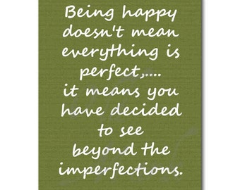 Being Happy - Printable Digital Download - INSTANT DOWNLOAD