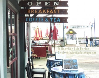 Vancouver Photography -  Fisherman's Wharf - Canada Kitchen Wall Decor - Canadian Fine Art Print