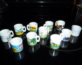 11 Little China Cups