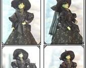 "WITCH"" Pattern Tonner Tyler, Witch , Gene 15-16 inch Fashion Dolls"