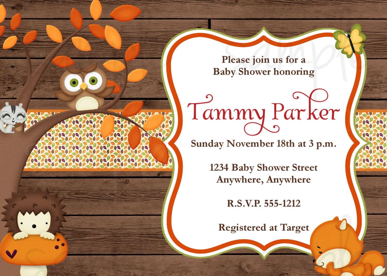 Fall Themed Invitations was perfect invitations ideas