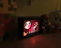 Mario Boo Ghost Light Box