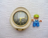 Late Art Deco Mauthe German alarm clock