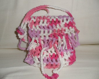 Hand-crochet small bag,Pouches & Coin Purses