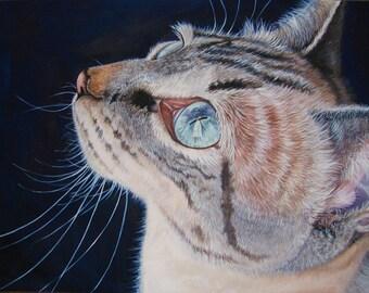 Cat Painting-Print