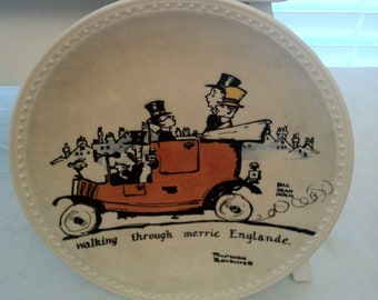 Retro Norman Rockell Limited Edition Plate