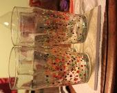 Polka-dot Drinking Glasses