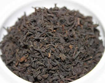Organic Lapsang Souchong:  Smoked China Black Tea - Loose Tea Blend
