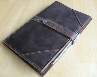 "Small Leather Portfolio or Writing Case - ""The Secretariat"""