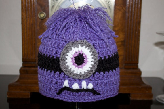 Crocheted Purple Minion Crochet Pinterest | Auto Design Tech