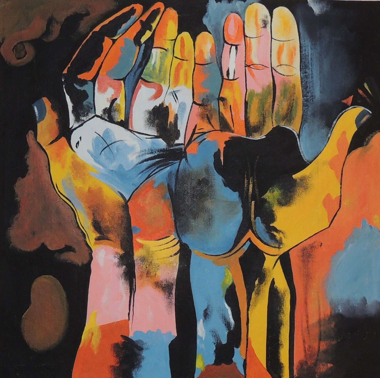Guayasamin diversity hands cubism ecuadorian by - Minimum temperature for painting ...