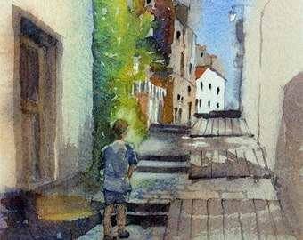 Spanish backstreet