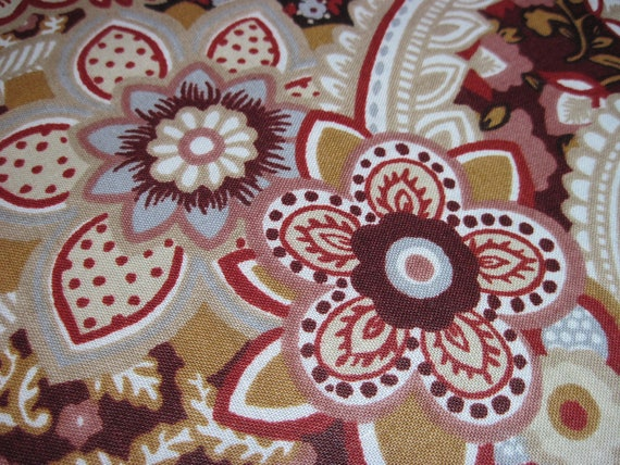 1.75 yards Retro Fabric - Vintage 1979 Riverdale Home Decorator