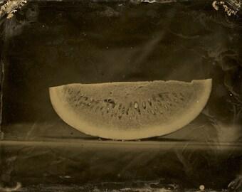 Watermelon 2 Original Tintype Photograph