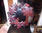 South Carolina Gamecock wreath