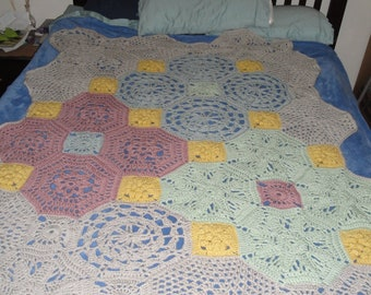 Crocheted Afghan - Super Soft