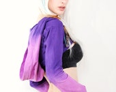 CUSTOM DYED - Choose your own colors - Cropped Hoodie - Cropped Shrug - Dance Festival