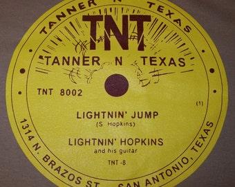 TNT Records - Lightnin' Hopkins- T-Shirt