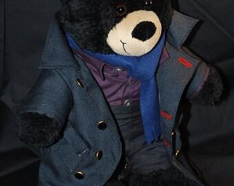 Sherlock Holmes teddy bear. Sherlock BBC