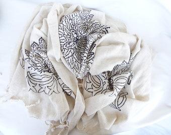 Traditional Turkish Towel, a special lithography Peshtemal-Home Decor Peshtemal-Spa,Bath,Beach,,Yoga,Pool,Fitness Towel