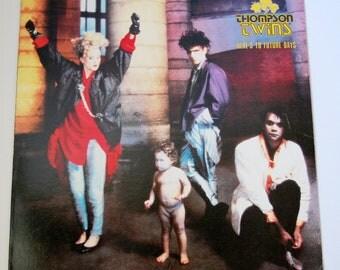 Thompson Twins Here's To Future Days Album Vinyl 1985