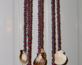 Wind chime with Scallop Shells