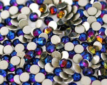250  Swarovski Flat back stones size: SS5 (1.8mm) Choose 5 colors from MY list below color chart