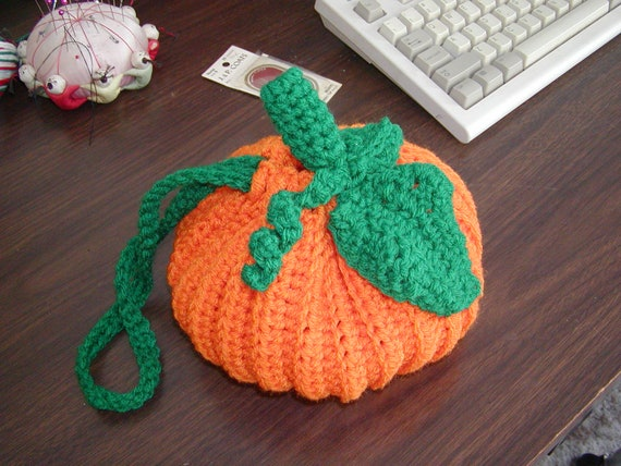 Pumpkin Purse PATTERN ONLY