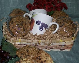 Jumbo Chocolate Chip Banana Muffin Gift Basket