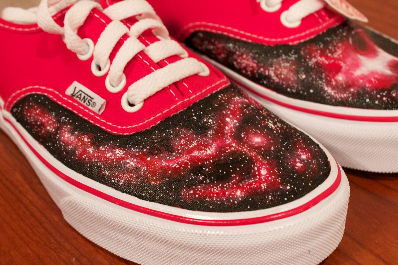 vans femme galaxy