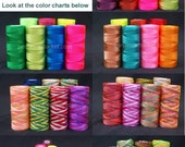 14  x 170 meter / 14 x 185 yards NYLON CORD thread 0.75 mm free choice in more than 350 colors