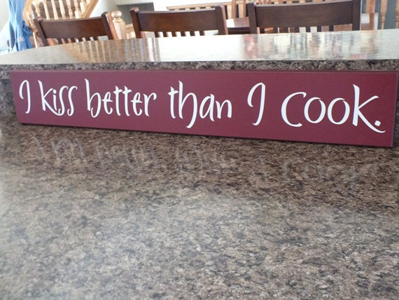 Popular items for kitchen signs on Etsy