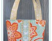 The Sweet Little Pleats PDF Tote Bag Pattern