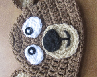Crochet Bear hat/beannie