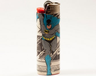 Batman Comic Book Custom Bic Lighter