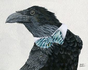 Art Print. Raven Croft. Dapper Edition